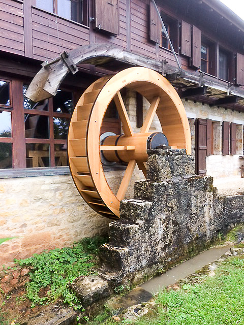 Spezialanfertigung Mühlenrad
